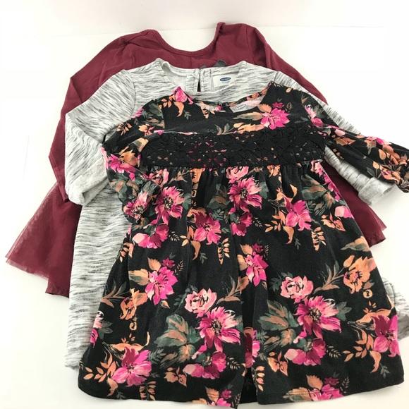 a78b6f807 Old Navy 4T Girl Dress Toddler Lot 3 Long Sleeve. M_5b17d4c8c61777d2bd1b3f22